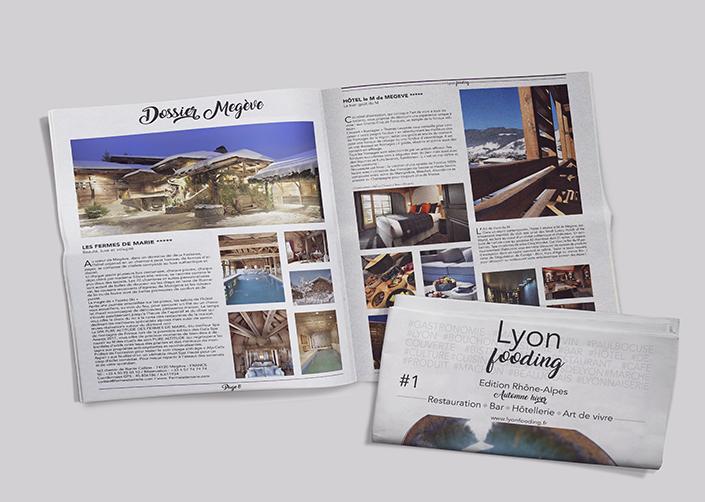 magazine Lyon Fooding N°1